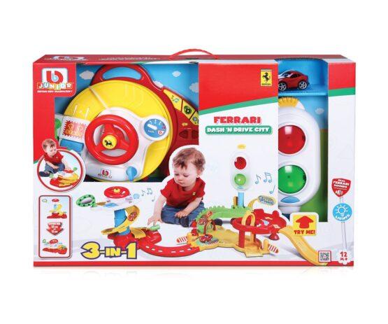 Bburago Junior – Писта за игра Движение в града Ferrari