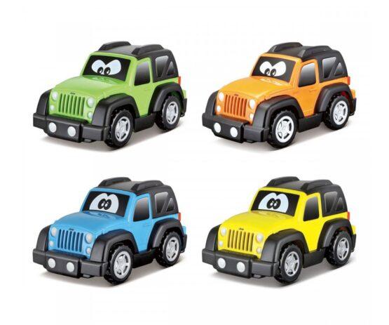 Bburago Junior – Пластмасова количка Jeep, асортимент
