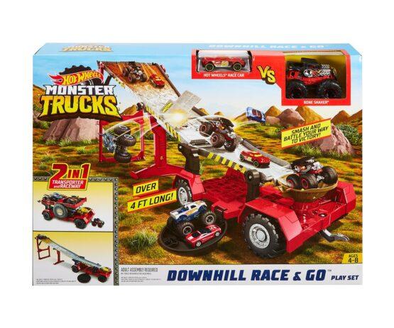 Hot Wheels – Игрален комплект трансформираща се писта транспортьор