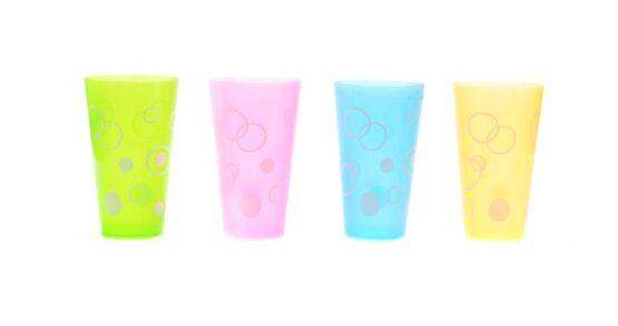 Комплект 4 броя чаши за напитки