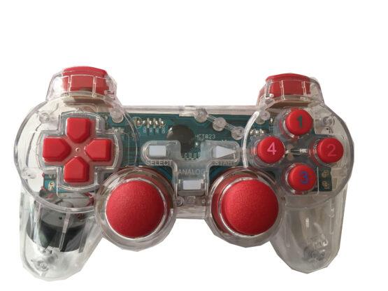 Джойстик с кабел, GameStart, за PC,(светещ)