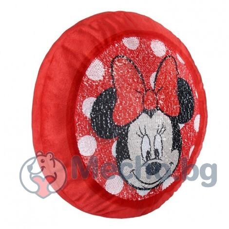Възглавничка с паети Cerda Minnie Mouse