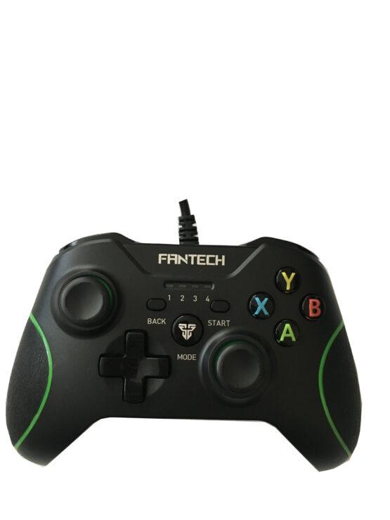 Джойстик FanTech Shooter GP11,Черно/Зелен – за PC,PS3