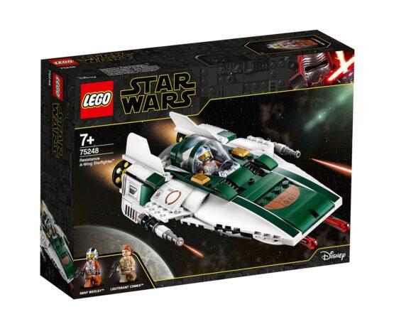LEGO® Star Wars™ 75248 – A-wing Starfighter™ на Съпротивата
