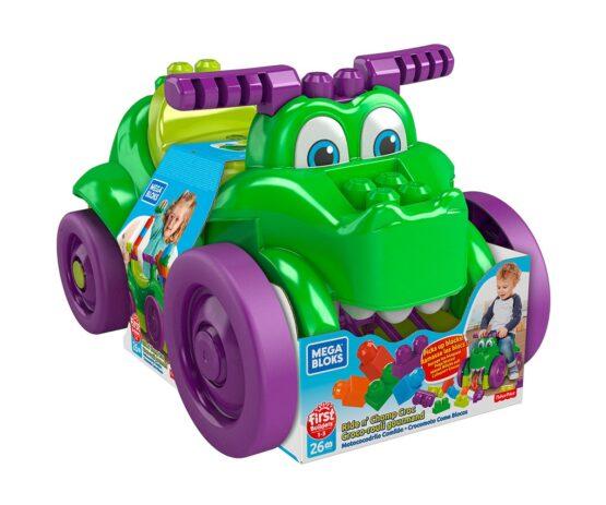 Игрален комплект Mega Bloks, кола крокодил