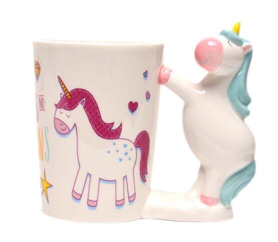 Керамична чаша – еднрог 2