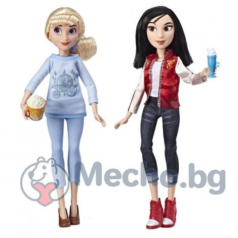 Кукли Hasbro Disney Princess CINDERELA AND MULAN E7356