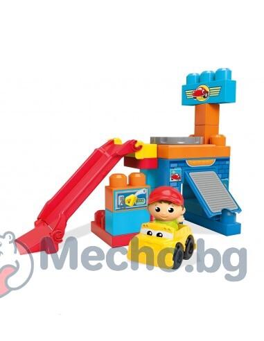 Детски строител – Въртящият се гараж, Mega Bloks