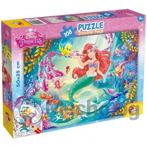 Детски пъзел Lisciani The Little Mermaid 108ч 48069