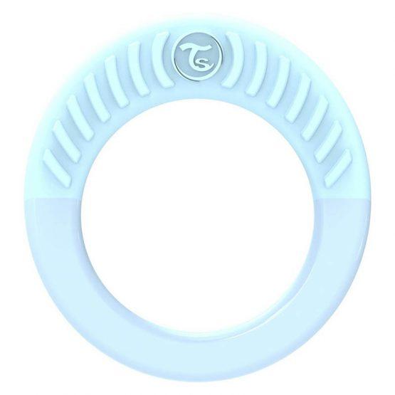 Бебешка чесалка Twistshake – кръгла синя