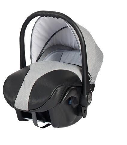 Бебешко кошче за кола, Neo Style, Baby Merc сиво и черно