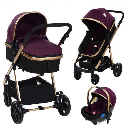 Детски колички 2-в-1 belinda и столчета за кола