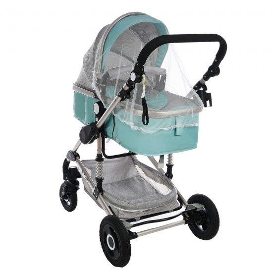 Комбинирана детска количка fontana – синя