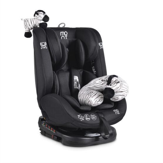 Стол за кола Serengeti черен