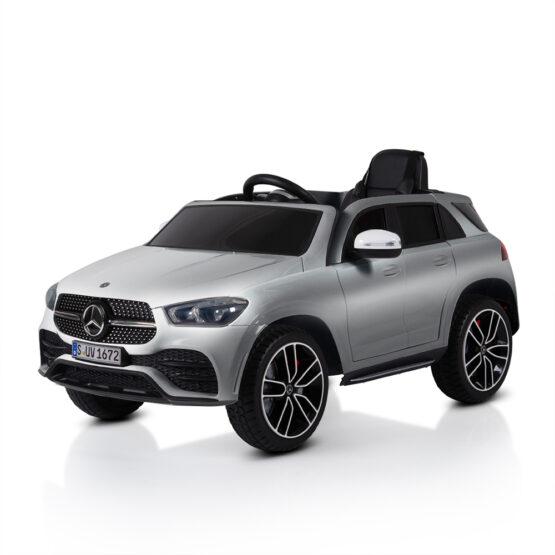 Акумулаторен джип Mercedes GLE450 мет. сребрист