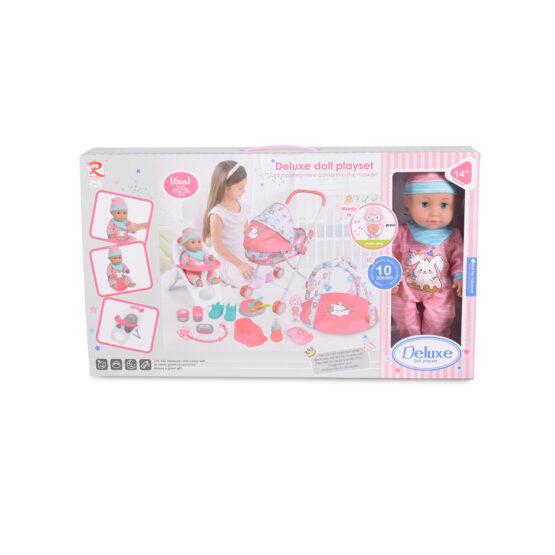 Кукла 36cm с комплект за игра 89826