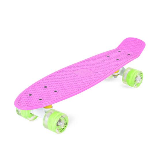 """Скейтборд 22"""" Spice розов"""