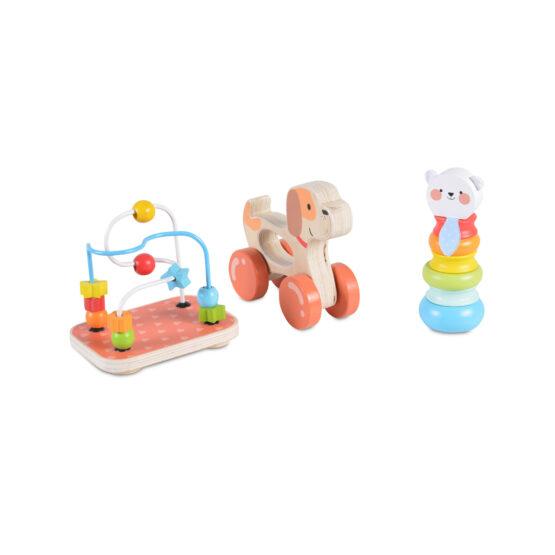 Дървен сет с играчки 2203