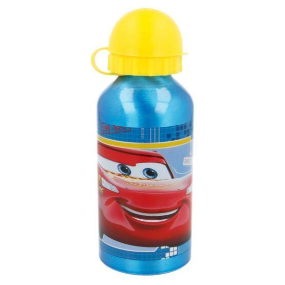 Stor алуминиева бутилка с картинка Cars 400 мл за момче