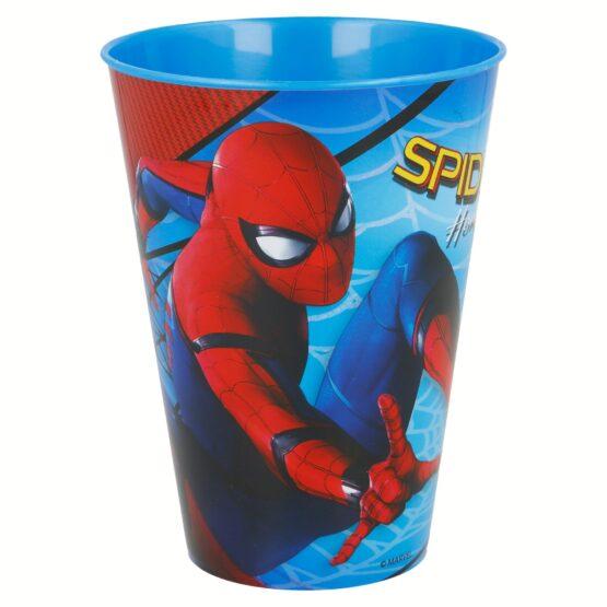 Пластмасова чаша Spiderman 430 мл, 3+ години