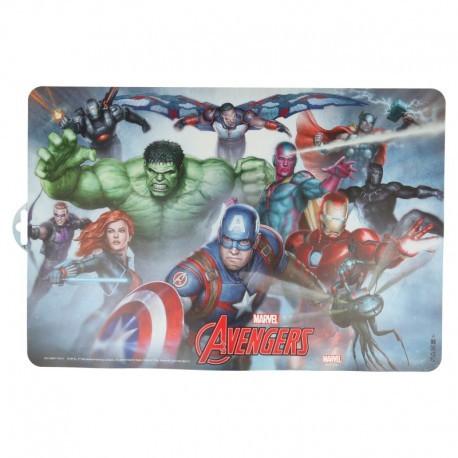 Подложки за хранене с картинка avengers